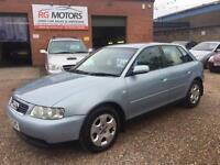 2002(52) Audi A3 1.8 SE Blue 5dr Hatch, LADY OWNER,LOW MILES, **DEPOSIT TAKEN**