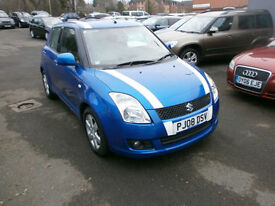 Suzuki Swift 1.5 GLX 82K, DRIVES WELL A NICE SPORTY LOOKING CAR