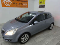 Silver Vauxhall Corsa 1.4i 16v SE ***FROM £91 PER MONTH***