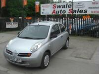 2003 NISSAN MICRA S 1.2L ONLY 82,372 MILES, IDEAL 1ST CAR, LOW INSURANCE GROUP