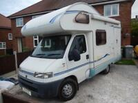ACE Novella Torino 4/5 Berth End Kitchen Motorhome For Sale Ref:14267
