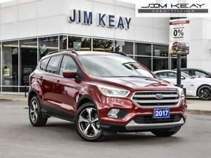 2017 Ford Escape SE  - Bluetooth -  Heated Seats - $100.25 /Week