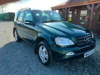 2003 MERCEDES ML 270 CDI 5dr Tip Auto 5 SEATS 4X4 LEATHER 2 OWNERS