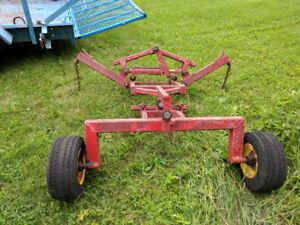 Lastec 10' Grass Cutter Hydraulic Lift Kit