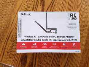 D-Link WiFi pci-express adapter for sale