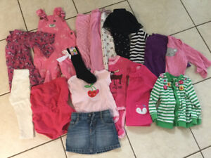 Girls clothing lot 12-24mo
