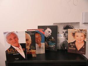 lot de livres variés