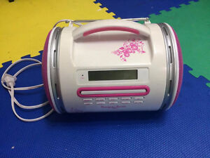 Pink CD Player.