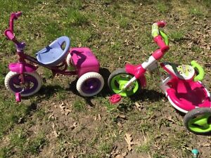 Tricycles for girls $10 each