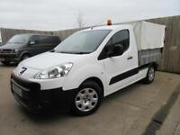 PEUGEOT PARTNER CAGED TIPPER 1.6 HDI 2012 39,000 MILES FSH 12 MONTHS WARRANTY