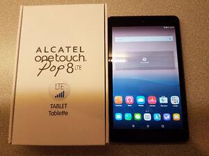 """Alcatel OneTouch Pop8 LTE + WiFi 8"""" Screen Tablet"""