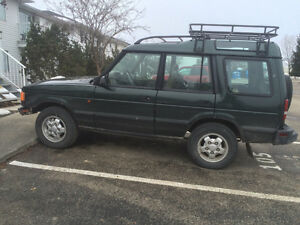 1995 Land Rover Discovery Discovery SUV, Crossover
