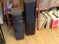 Stereo hi fi speakers