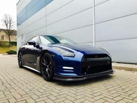 2011 61 reg Nissan GT-R 3.8 V6 Blue + RECARO LEATHER + 650 bhp + CARBON KIT
