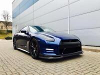 2011 61 reg Nissan GT-R 3.8 V6 Blue + RECARO LEATHER + 650 bhp + CARBON KIT