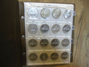 Canadian Coin Collection 1800s-date 10c 25c 50c Silver Dollars
