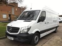 2014 64 MERCEDES-BENZ SPRINTER 2.1 313CDI LWB HIGH ROOF 130BHP NEW SHAPE. 89K. F