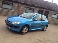 "Peugeot 206 HDi turbo diesel 2.0 2002"" cheap family car may swap px"