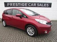 2015 Nissan Note 1.2 Acenta (Style Pack) 5dr Petrol red Manual