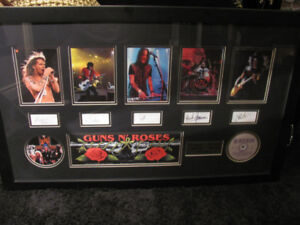 Guns n' Roses Large Picture In Frame