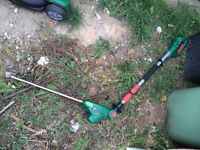 18v QUALCAST hedge trimmers untested