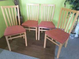 Set Of 4 Chairs - Can Deliver For £19