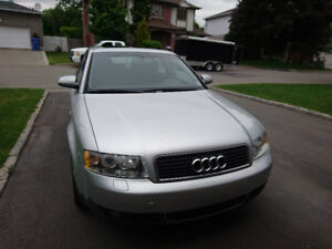 2004 Audi A4 1.8T FWD (Silver) - Automatic