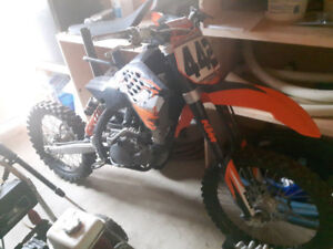 2008 KTM 250SX-F Part Out