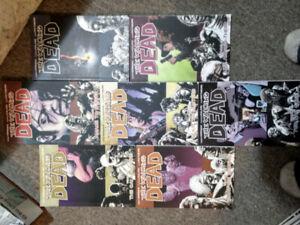 The Walking Dead graphic novels issues #1-13
