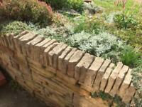 Cot stone walling, building blocks