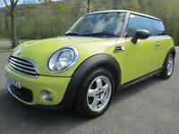 60/10 MINI ONE PEPPER 1.6 3 DR HATCH IN YELLOW WITH ONLY 45,000 MILES