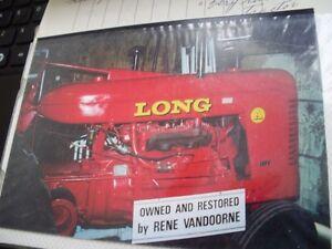 Long Model A Antique Tractor