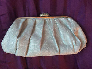 Sparkly Silver Clutch ~ perfect for Prom!