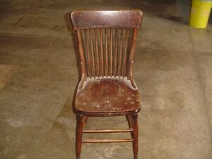 REDUCED PRICE    Old Wooden Chair