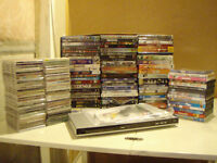 CD's, DVD's and DVD Player