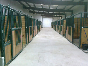 Indoor and outdoor horse board. New barn, pens and Arena.
