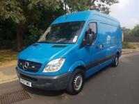 2012 Mercedes-Benz Sprinter 2.1TD 313CDI MWB Blue 1 Owner From New 2 Keys