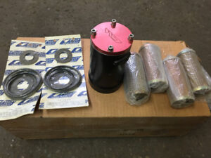 Cartridge Style Heavy Duty Oil Filter System For Chev Marine