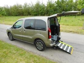 2013 Peugeot Partner Tepee 1.6 Hdi 5 Seats WHEELCHAIR DISABLED ACCESSIBLE WAV