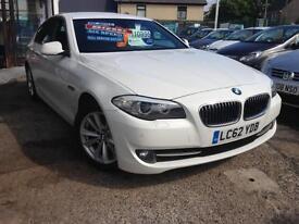 2012(62) BMW 520 2.0TD EffDyn (Vat Qualifying) 185 *1Owner* (Finance Available)