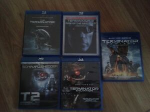 Terminator Colloction Blu- Ray Mint condition