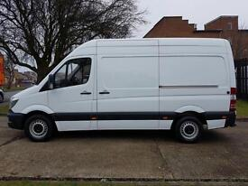 2015 Mercedes Sprinter NEW SHAPE 313CDI MWB HIGH ROOF. VERY LOW 31,000 MILES.