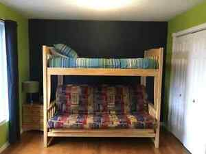 Bunk Bed with Futon