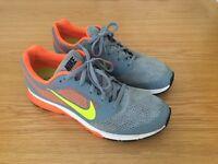 Nike running shoes, UK size 8.5
