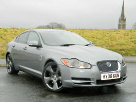 2008 Jaguar XF 4.2 V8 Supercharged SV8 4dr WITH F/SH+MEGA SPEC!+MUST SEE