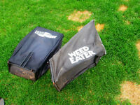 1 lawnmower bag for yardworks and1 bag weedeater lawnmower 450-