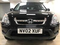 Honda CR-V 2.0 i-VTEC SE Sport BLACK 4X4 WARRANTY 12 MONTHS MOT FULL SERVICE H