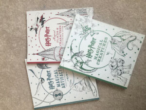 Brand new Harry Potter colouring books