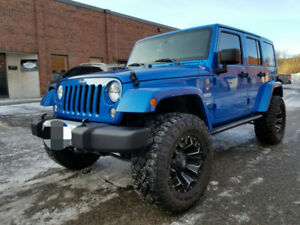 2015 Jeep Wrangler Sahara With Packages Loaded and Upgrages