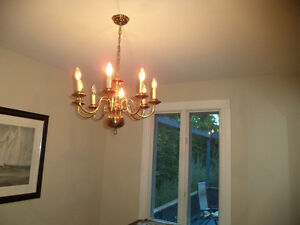 ANTIQUE CHANDELIERE